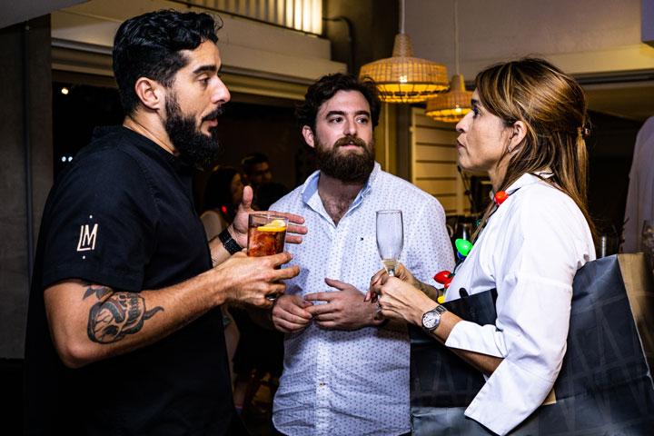 Leslie Cofresi, Daniel Cristal y Adria E.