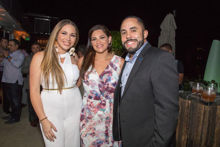 Raisa Maldonado, Jassil Villanueva, Ariel Rosario
