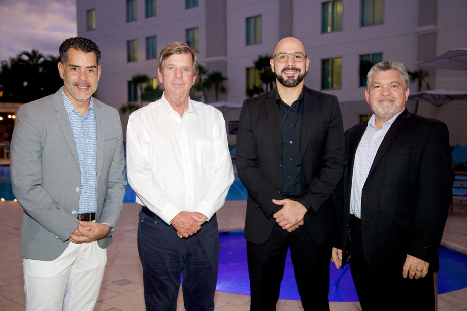 Pablo Torres, Bruce Edenton, Omar Torres, Manny Gonzalez.