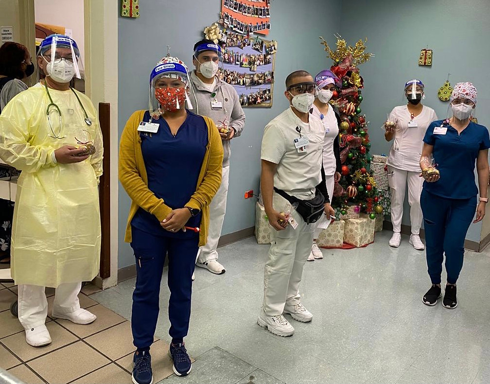 Profesional de Salud de los Hospitales HIMA San Pablo.