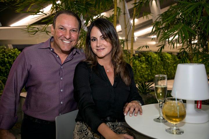 Javier Magriña y Lyn Yambo
