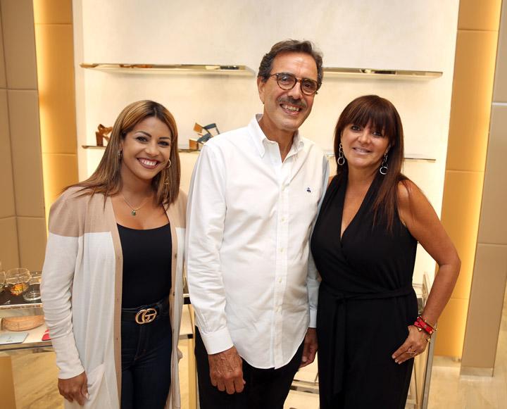 Xiomara Rosado, Miguel Villafañe y Annette Oliveras