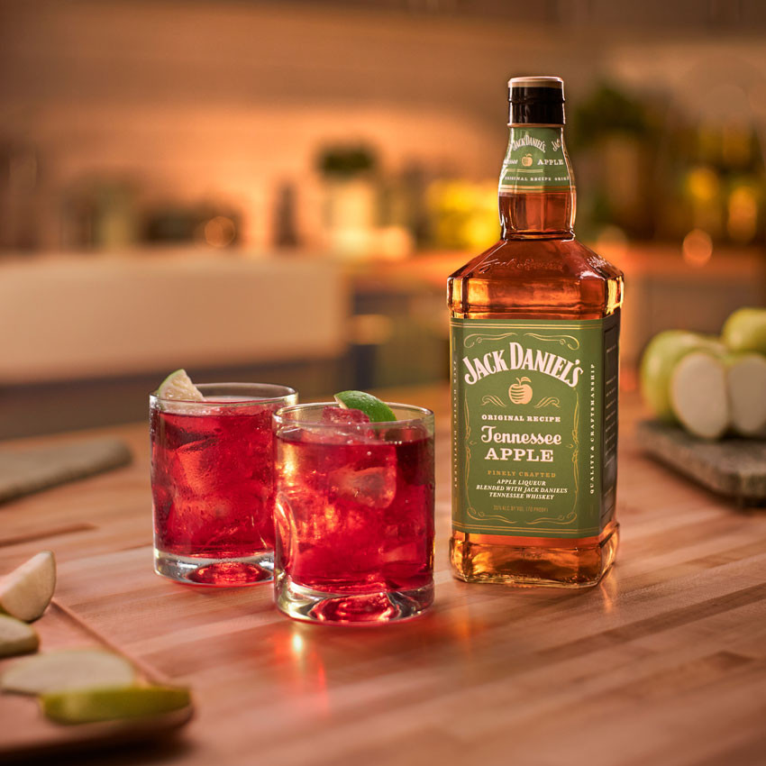 Jack Daniel's Tennessee Apple, Cranberry