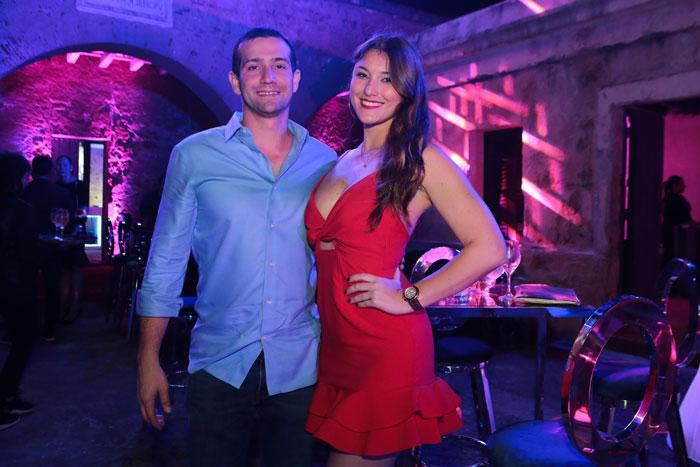 Guillermo Abril y Patricia Quiñónez.