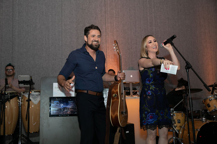 Hermes Croatto y Milly Mendez.