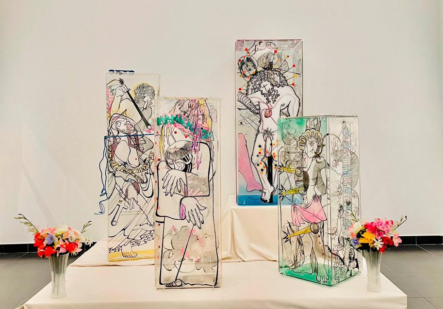 Retrospectiva, artista Suzi Ferrer