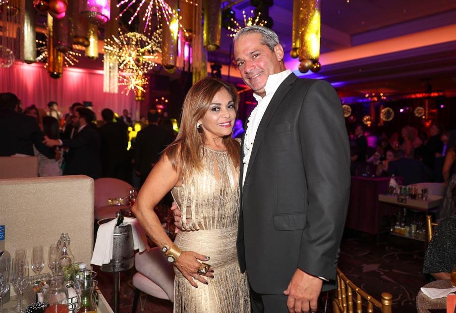 Zenaida López y Luis Márquez