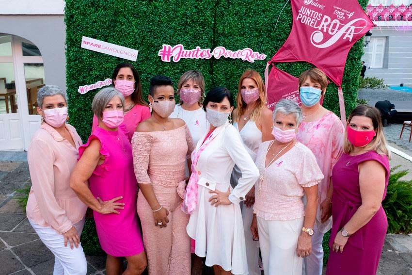 Grupo de sobrevivientes de cáncer de seno, Susan G. Komen.