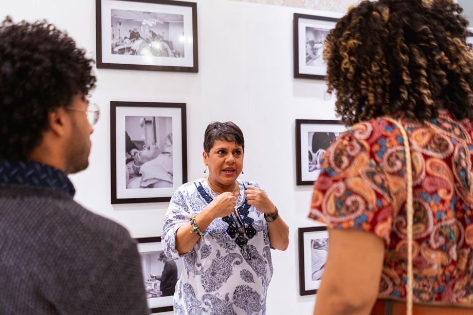 Mayoli Hernandez presenta su exposición El Proceso hasta el domingo