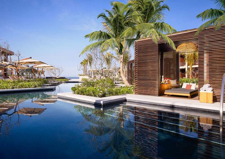 Nobu Hotel Los Cabos - Pacific Pool Cabana.