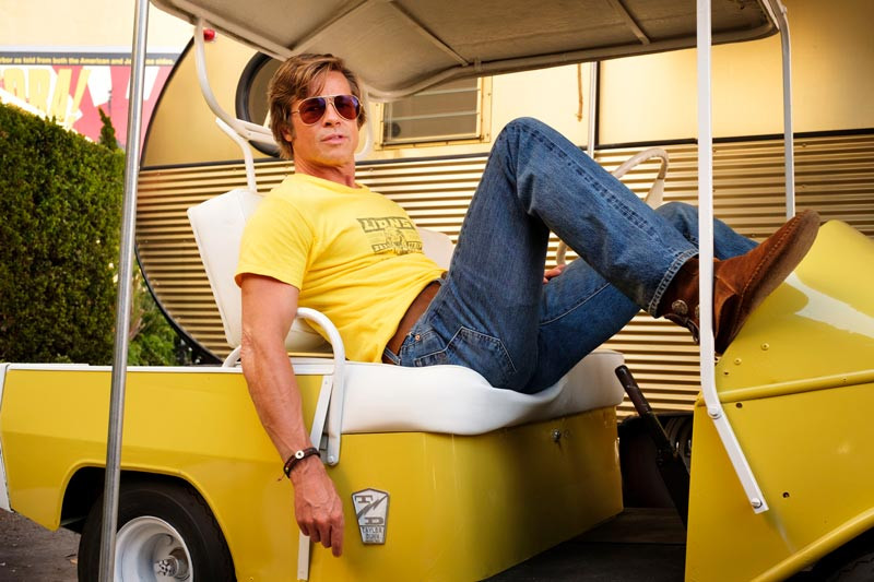 Brad Pitt 2019, Once Upong a Time In Hollywood.