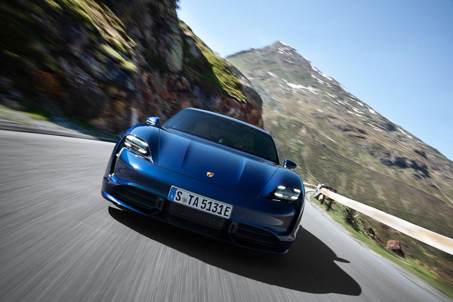 Porsche 100% eléctrico.