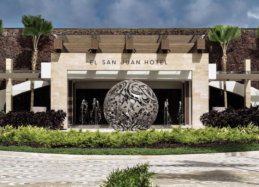 Fairmont El San Juan Hotel.