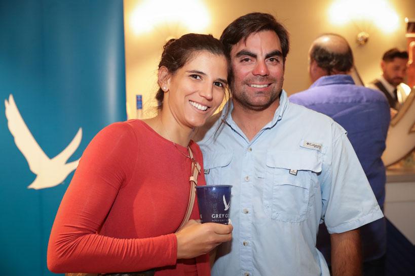 Soleyl González y Luis Colón