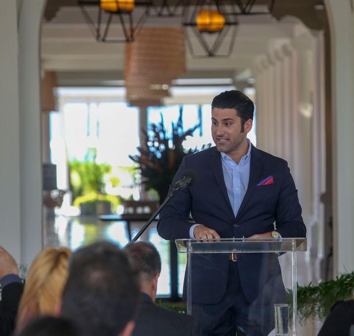 Robert Martinez gerente Senior de Hyatt para Latinoamerica y el Caribe