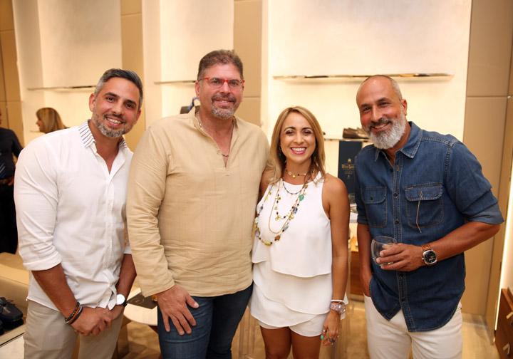 Jesús Santiago, Alfonso y Erika Díaz y Guillermo Parrilla