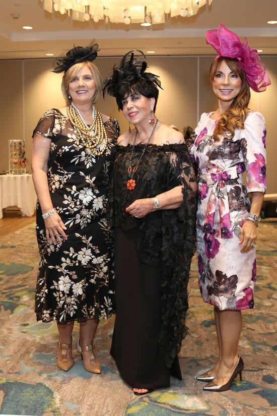 Lilliam Rodríguez, Carlota Alfaro y Wanda Santiago.