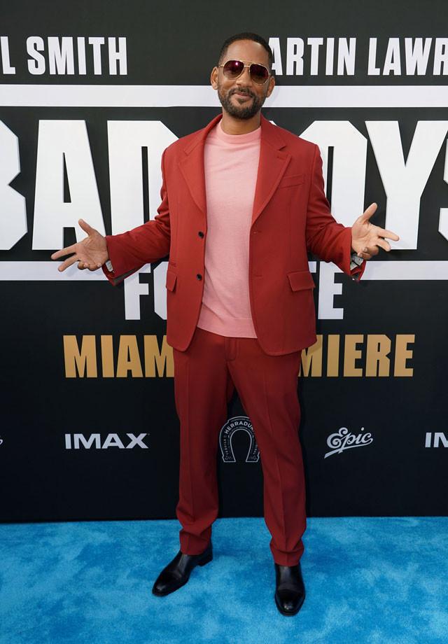 Will Smith 2020 - Bad Boys Miami Premiere
