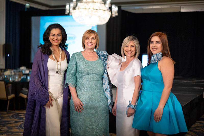 Lady Wilnelia Forsyth, Lilliam Rodríguez, Mayra Plumey, Claudia Vélez Plumey.