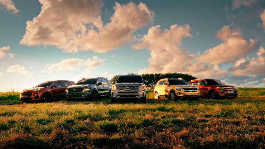 Kia, y su familia de SUV's