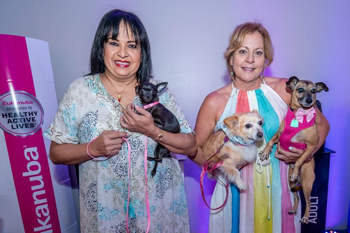 Belén Martínez Cabello con Beyonce y Lizette Díaz con Sully y Cali.