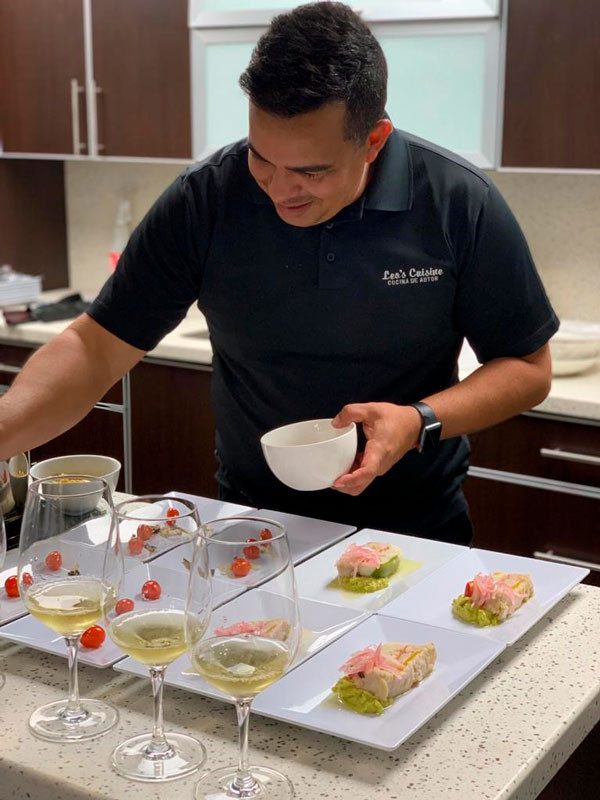 Chef Leo Mendoza