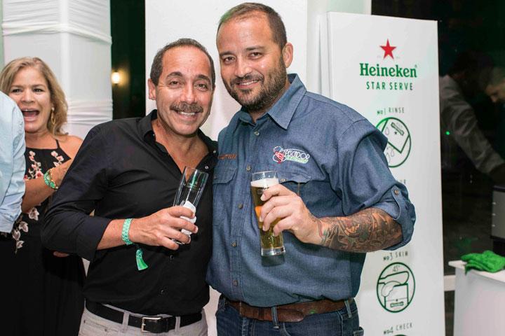 Aníbal Santiago y Pedro Burgos
