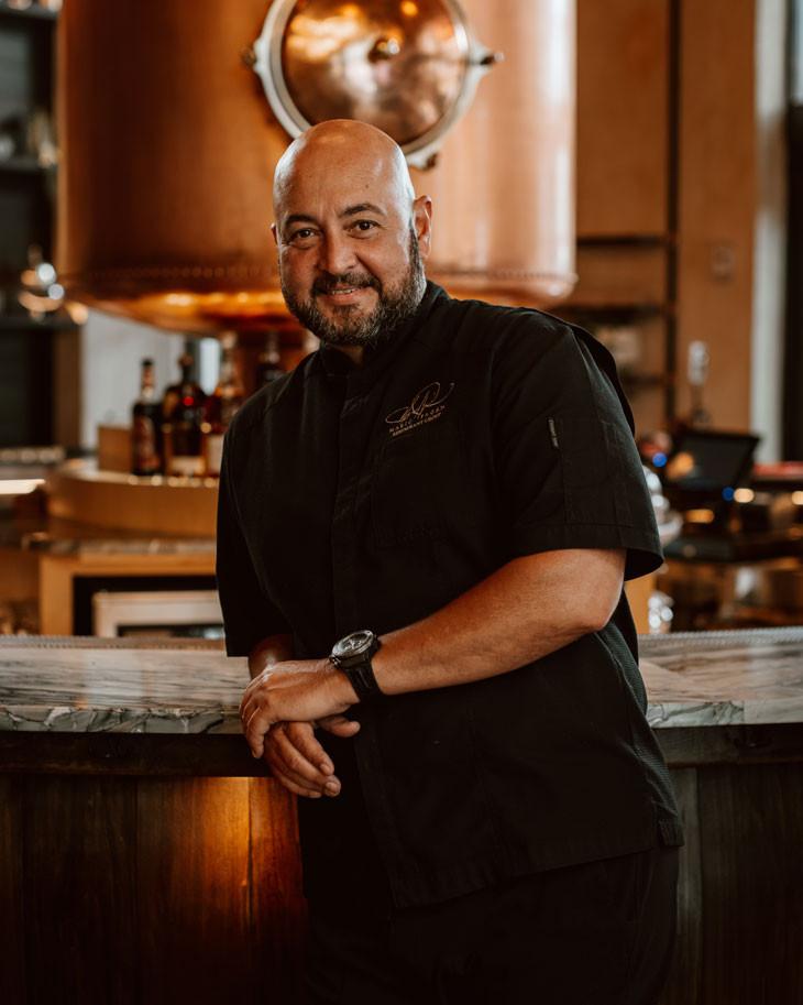 Chef Mario Pagán, La central, Experiencia culinaria a la brasa