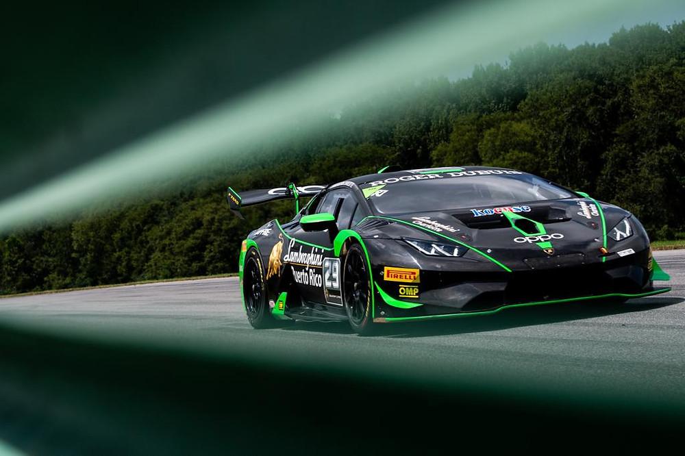 Víctor Gómez IV, Lamborghini.