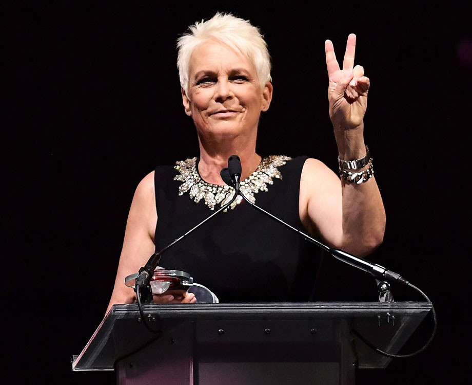 Jamie Lee Curtis 2019, Cinemacon Vanguard Award.
