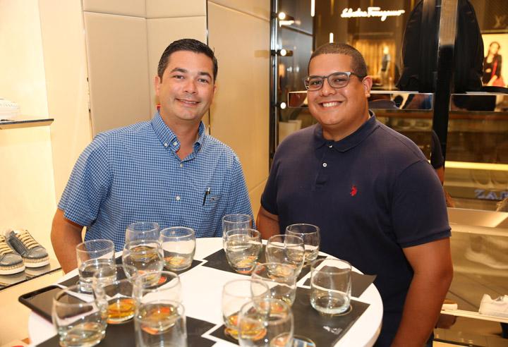David Mora y Alex Santiago