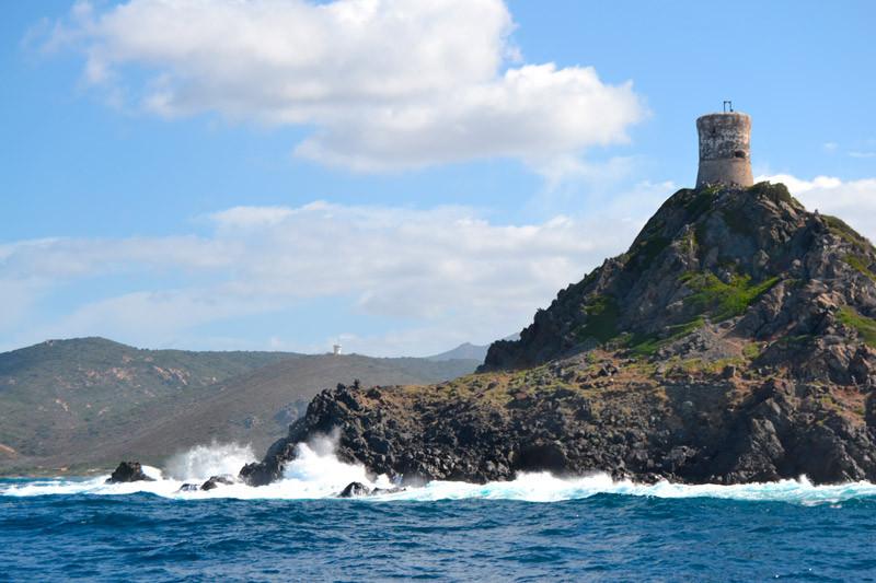 Islas Sanguinaires.