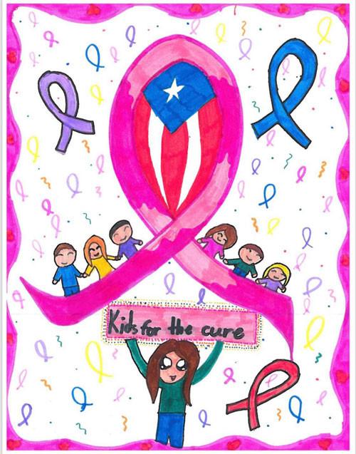 Ganadora de arte para la camisa 2019, Adriana C. Piñero Marrero. 5to grado de la Escuela Elemental de la UPR