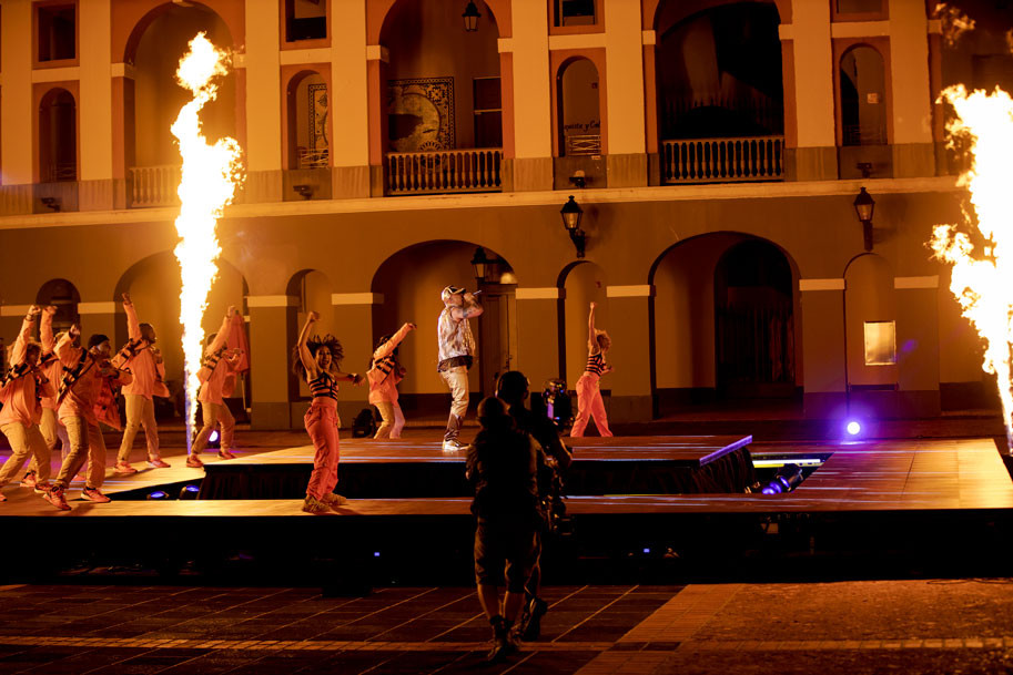 Wisin - Cuartel Ballajá en Viejo San Juan
