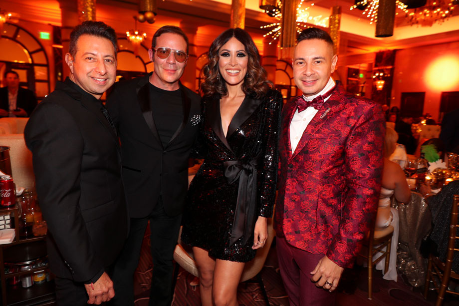 Junior Meléndez, Emilio Olabarrieta, Rosalina Torres, David Silva
