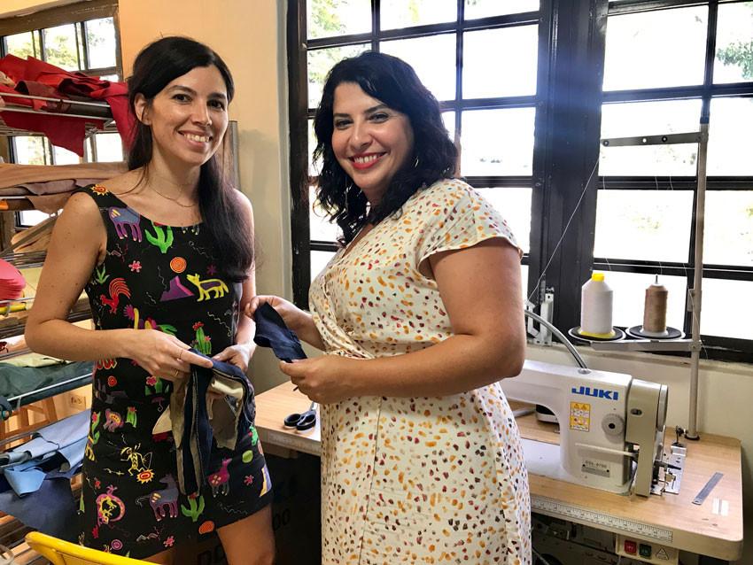 Retazo e Isleñas abren las puertas de su taller de costura a la comunidad.