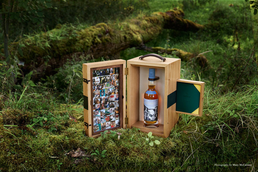 The Macallan, Down to Work Limited Edition 700ml open pack by Mary McCartney