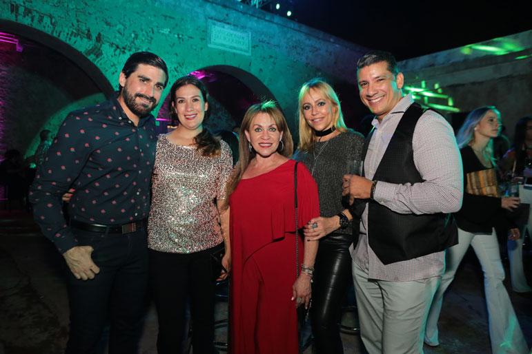 Tomas Carreras, Marisa Gonzalez, Lizzie Ibarra, Monica Rivera Fas, Edwin Molina.