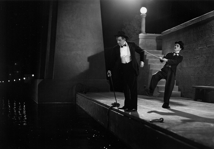 City Lights, Charlie Chaplin.