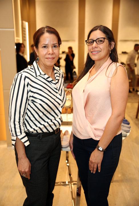 Irma Román y Leyda Méndez