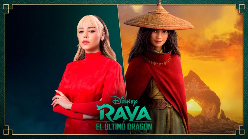 Danna Paola, Raya and the Last Dragon.