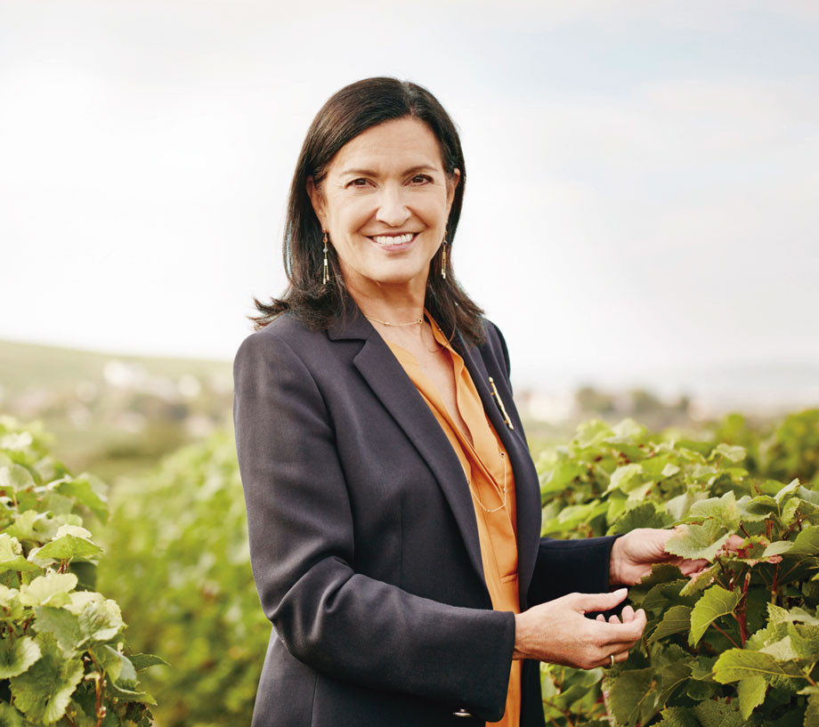 Margareth Henríquez, presidenta y CEO del champán Krug
