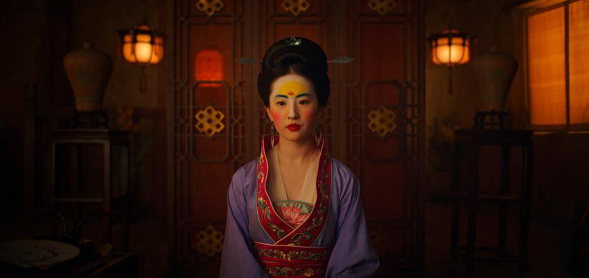 Liu Yifei, Mulán.
