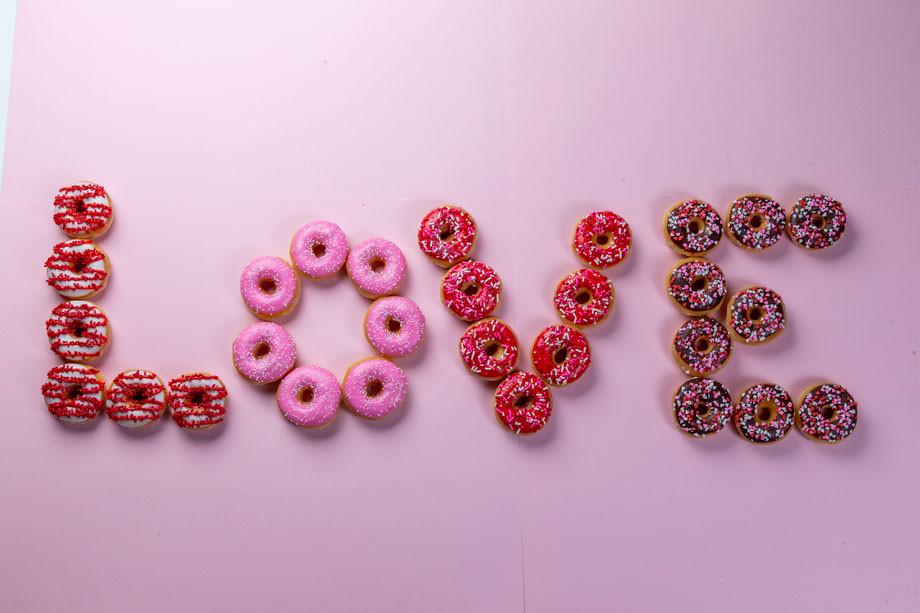 Krispy Kreme, San Valentín