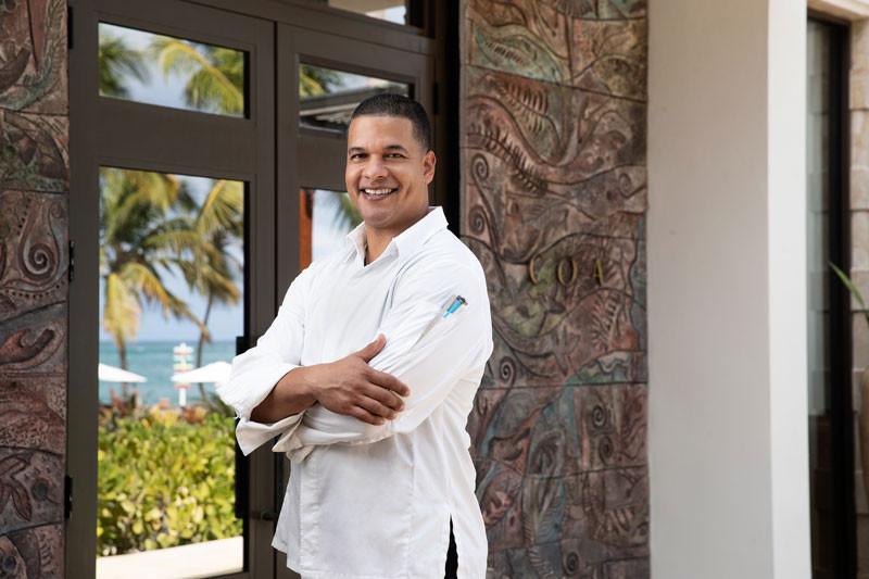 Coa - Ritz Reserve, Chef Juan Pena Romero.