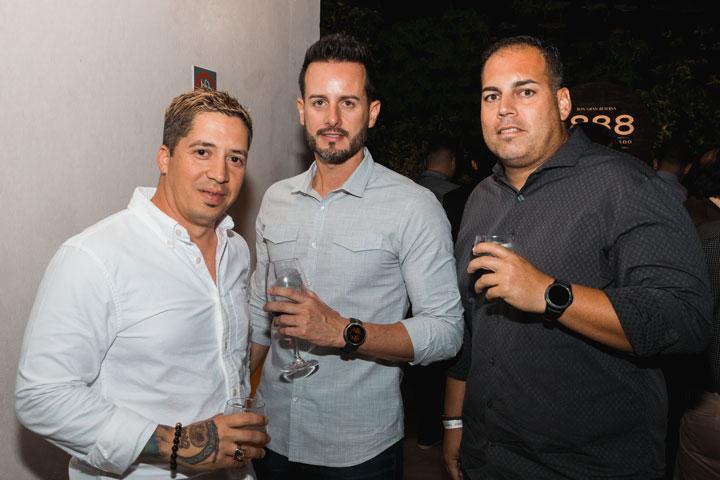 Orlando Rodriguez, Juan Carlos Pérez, José Sanchez
