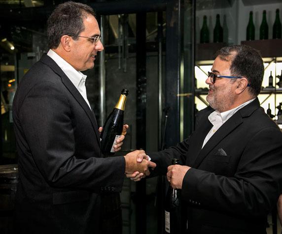 Eduardo Negron y Rafael Gavilanes.