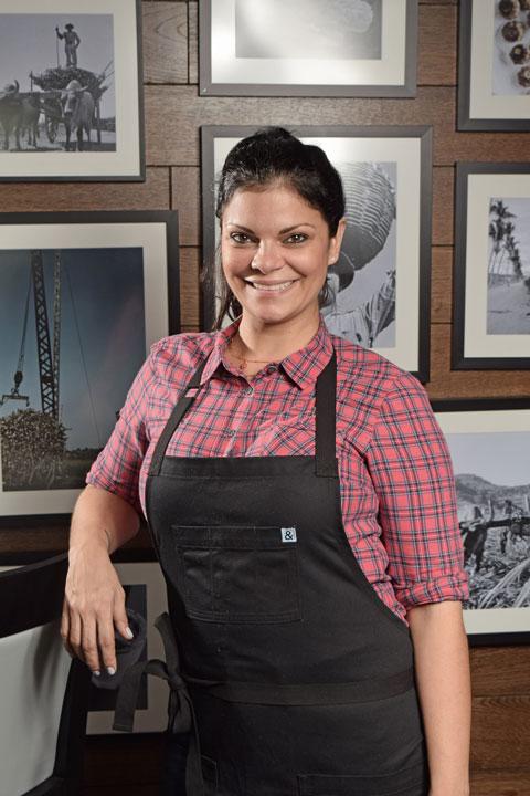 Chef Juliana Gonzalez.