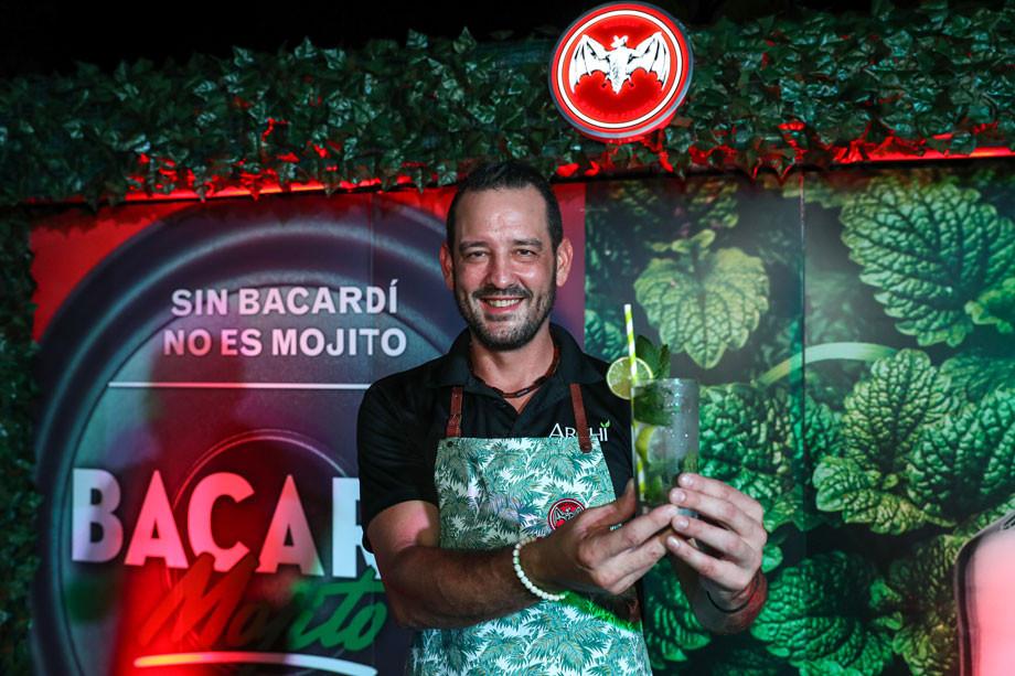 Ramon Archilla, de Archi en Corozal, ganador del Mojito Original.