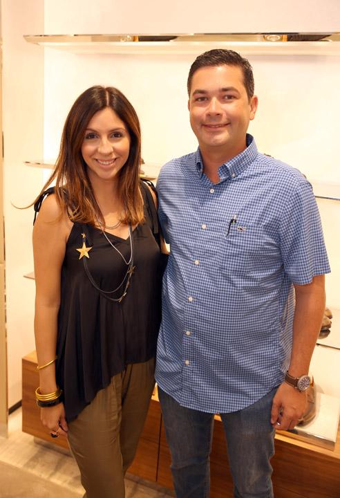 Sully Soto y David Mora
